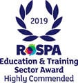 rospa 2019 highly commended logo